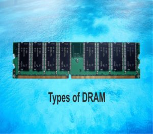 Types of DRAM and their generations