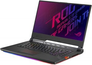 Best Laptops for Data Scientist - Asus Rog Strix Scar III