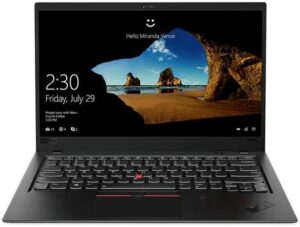 Best Laptops for Writers - Lenovo ThinkPad X1 Carbon