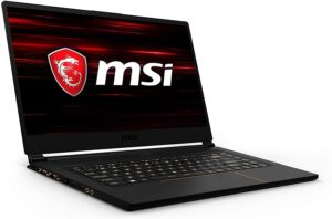 Best Gaming Laptop under 2000 dollars - MSI GS65 Stealth Thin