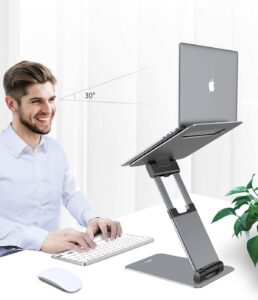 Nulaxy C5 Sit-to-Stand laptop Stand