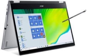 Best laptop for artists - Acer Spin 3