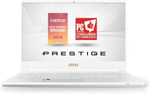 Best laptop for artists - MSI P65 Creator