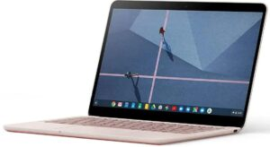 Best Pink and Rose Gold Laptop - Google Pixelbook Go
