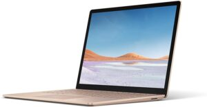 Best Pink and Rose Gold Laptop - Microsoft Surface Laptop 3